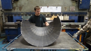 Conical and Step sheet metal rolling
