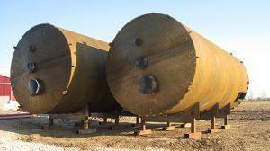 plate metal rolling of metal tanks