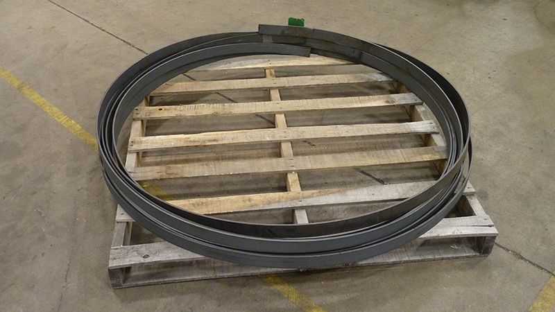 Very simple but large diameter ring rolling is a good example of basic rolling we can offer.