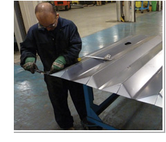 Complex Metal Bending Fabrication