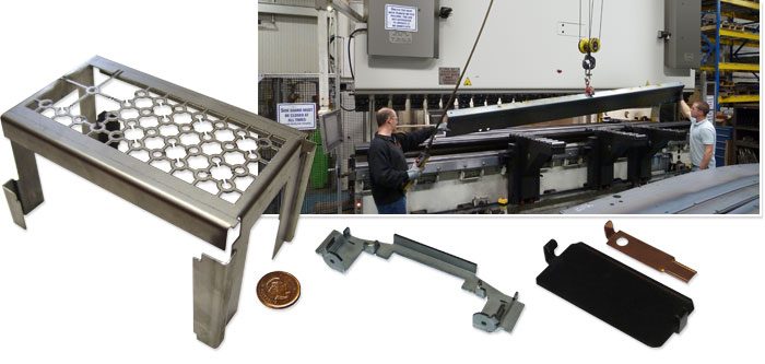 Metal bending with 20 foot wide CNC machine