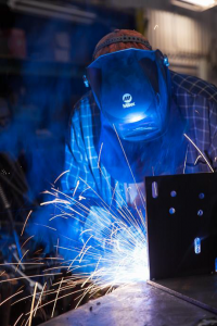 Welder-fitters at VeriForm are certified to CWB level 2 welding standards, which allow them to manage and build parts that are structural in nature like bridges and canopies.