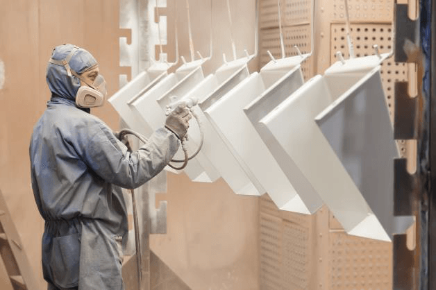 Our in-house paint booth allows us to paint up to 20 foot long parts using any wet paint specification required for the job.