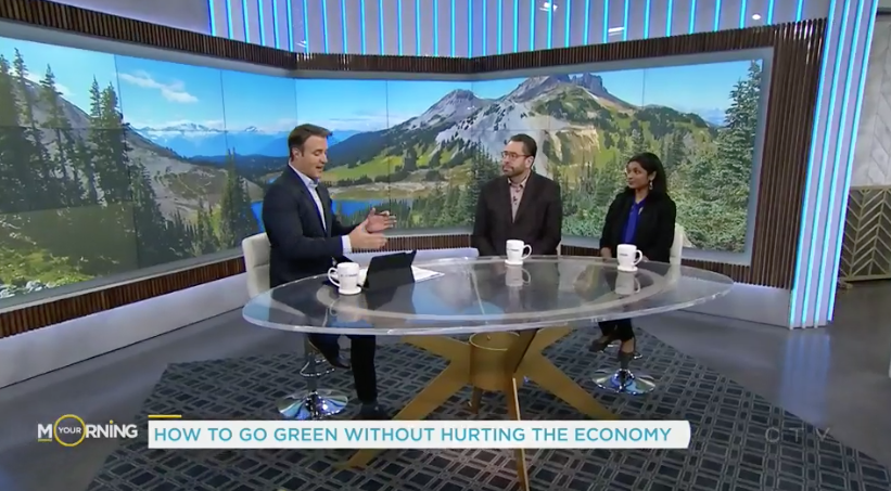 """VeriForm Example for CTV """"How to Go Green Without Hurting the Economy"""""""
