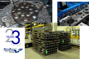 What types of CNC machining are offered at VeriForm?