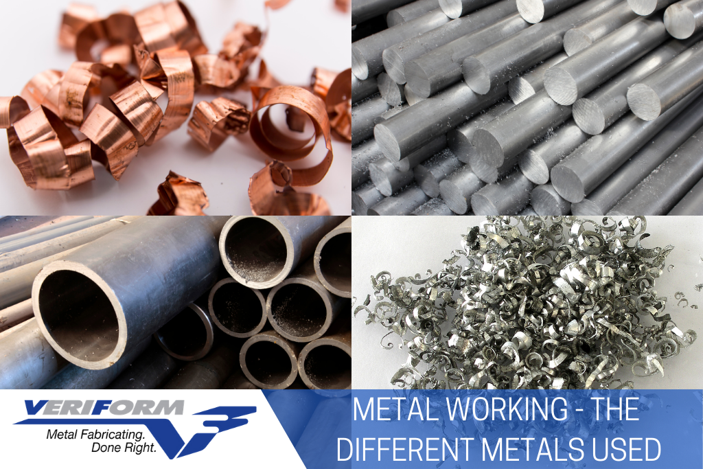 Metal Working: The Different Metals Used