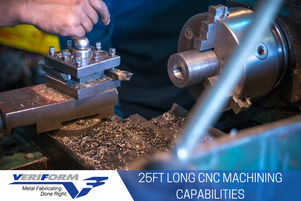 25ft Long CNC Machining Capabilities