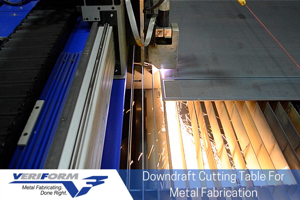 Downdraft Cutting Table For Metal Fabrication