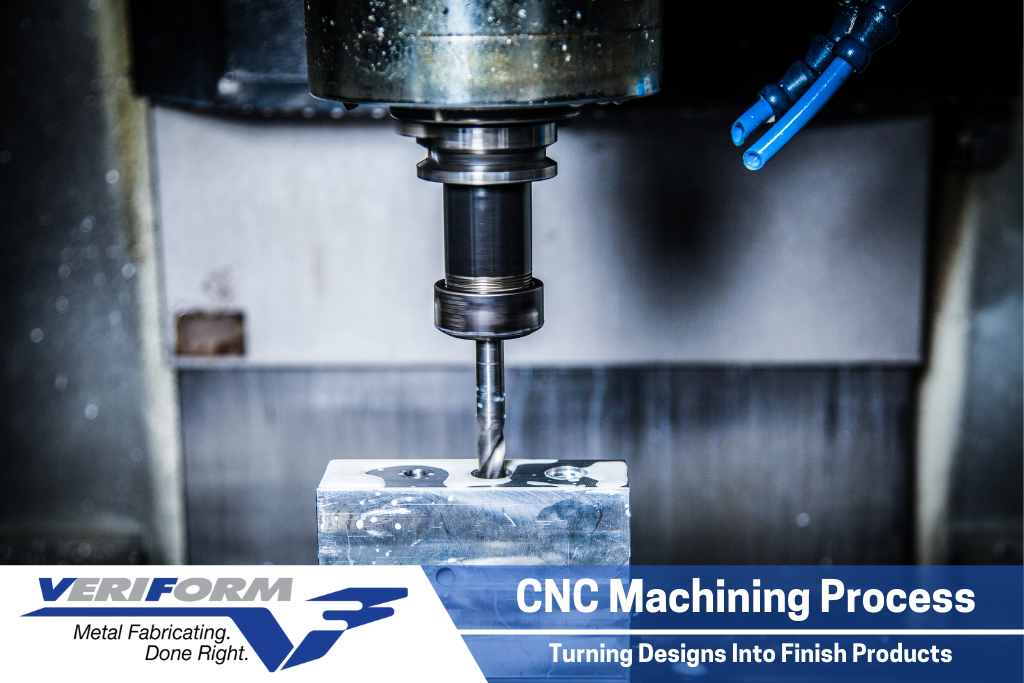 CNC Machining Process – Turning Design Into Finished Product