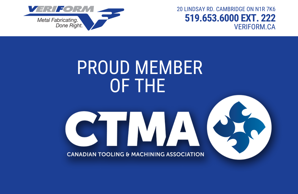 VeriForm Joins the Canadian Tooling & Machining Association!
